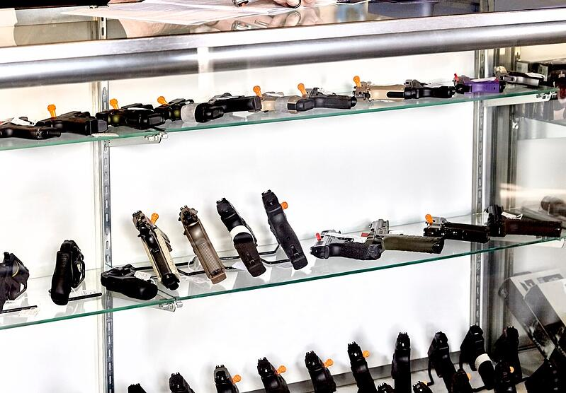 retail gun shop